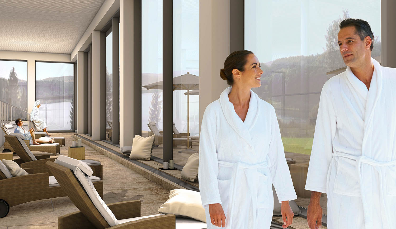 Eröffnung des Panorama Spa im Bio-Seehotel Zeulenroda