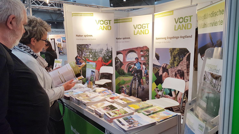 Tourismusverband Vogtland: Messemarathon läuft