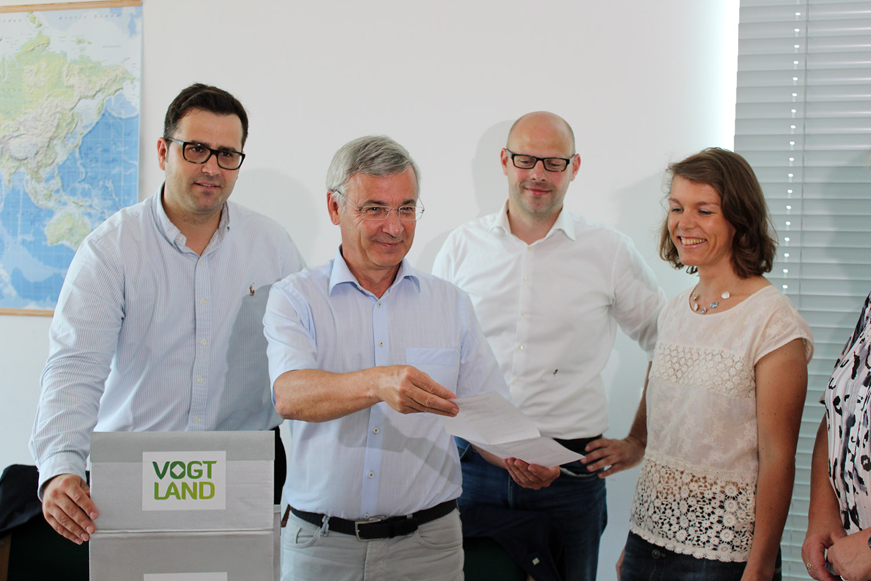 Tourismusverband Vogtland: Erfolgreicher Abschluss der Aufkleber-Aktion